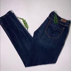 Juniors Levi's straight leg jeans